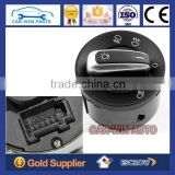 Chrome Headlight Contorl Switch Fit for VW Jetta Golf GTI MK5 MK6 Rabbit Tiguan 3C8 941 431C