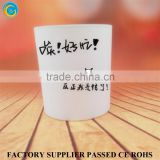 Customized Made Matte White Frosted Glass Votive Holders                                                                         Quality Choice