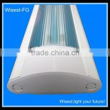 SAA CE ROHS fluorescent light fixture luminaires t5 2x54w with pc cover 1.2m (can be used for LED tube)