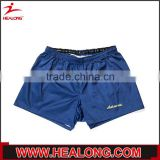 Alibaba good hand feeling breathable customized blank waterproof running short pants