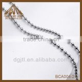 Lastest 304L Round Stainless Steel Ball chain For Curtain