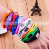 Fashion NEW Anion Sports Wrist Bracelet Watch Watches Men Women Digital Silicon Silicone LED Watch Insect Repellent