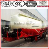 competitive price 60t 3 axles bulk cement trailer / tri-axle bulk cement powder tank trailer cement bulk semi trailer truck
