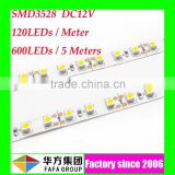 SMD 3528 epistar chip led strip rgb 60led/m&120led/m led strip rgb led strip 220v warm white
