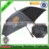 30'' promotional double layer umbrella with fan