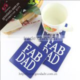 Printed promotional gifts hard board coasters made in China                                                                         Quality Choice