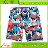 Blank camouflage microfiber mma board shorts wholesale custom                                                                                                         Supplier's Choice
