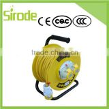 Electrical Indurstrial Extension Spring Loaded Retractable Cable Reel With Surger Protection And Cover