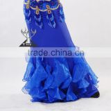 2014 Sexy Belly Dance Skirt , Long Ballroom Dancing Dress (QC1356)