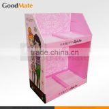Cardboard Makeup Mac Cosmetic Display Stand for Retail
