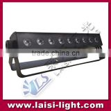 RGB 9pcs 3in1 LED Wall wash Light bar light led back light stage lighting