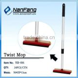 flexible telescopic double-face sponge window wiper