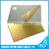 TOP Quality CR80 novelty brushed finishing plastic card                                                                         Quality Choice