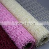 Yiwu supply 50 cm flower wrapping mesh supplier