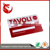 Signature strip new craft membership four color printing card