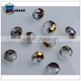 Crystal beads large hole wholesale glass beads hot selling murano black color jewelry beads