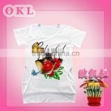 Cixi new arrival fashionable cute wholesale baby girls fancy t shirt