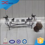 Custom made garden decorative cheap metal candle holder                                                                                                         Supplier's Choice