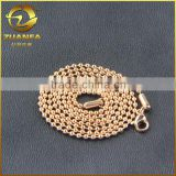 rose gold chain supplier PVD plating stainless steel ball chain 1.5 mm                                                                         Quality Choice
