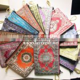 ORiENTAL ANATOLIAN TURKISH WOVEN RUG KiLiM CARPET DESIGN ZiPPERED COiN PURSES POUCH WALLET
