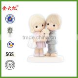 Resin wholesale baby couple figurines