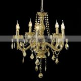 2015 Acrylic Shade Pendant Lamp Gold color decorative acrylic chandelier