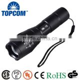 Aluminum Portable Blink 10W LED Flash Light Torch Light Zoom SMD Police Tactical G700 LED Flashlight                                                                         Quality Choice