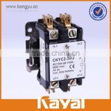 cjx9 series air conditioning ac contactor 2p 120v dp definite purpose contactor wholesale low price