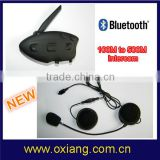 waterproof two way radio helmet headset, bicycle bluetooth helmet intercom headset