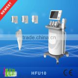 Hot sale Newest Four Treatment Heads HFU For Skin Tighten ,Skin resurfacing and promote the skin with CE certification