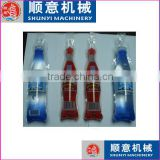 piston seasoning liquid and Flavour Instant Drink liquid in shaped pouch/bag/ sachet packaging fill and seal packing machine