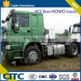 howo 4x2, FAW brand tractor truck head available/for dump truck or lowbed truck/ rear tipper truck head HOWO FAW brand available