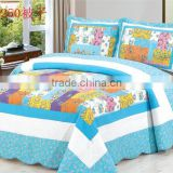 cheap cotton patchwork bed cover set