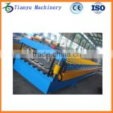 Steel Profile Glazed Tile IBR Corrugated Double Layer Roof Panel Cold Roll Forming Machine