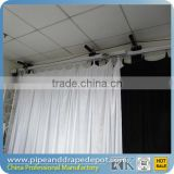 Remote control sliding curtain track, motorized curtain track system