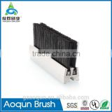 PA Bristle Frame Retarding Escalator Skirt Panel Brush Escalator System