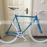 Cheap single speed road bicycle with 700c fixed bike wheel