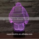 3d illusion multicolor cartoon color changing 3d lamp                                                                         Quality Choice