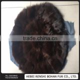 Wholesale Low Price High Quality Fashion Fox Fur Seat Cushion/Pillow/Keep Warm In Winter