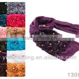 Europe and the United States a solid color the noble flower diamond shawl scarf scarf tube jewelry