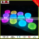 16Colors Changing RGB Light Rechargeable Battery Powered LED Light Base With Remote Control