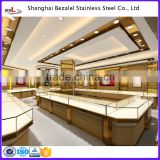 jewelry shopping mall showcase kiosk