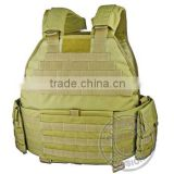 1000D Cordura or 1000D high strength nylon fabric Tactical Vest with high-strength sewing technology