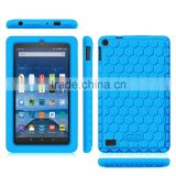 Kids proof silicone tablet cover case for Amazon kindle fire HD 7.0 display bumper case for Kindle fire hd 7
