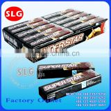 Superstar five stick chewing gum coffee flavor
