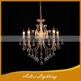 Top Sale Chandelier, Antique Popular 5 Lights Crystal Chandelier with Iron Material
