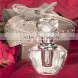 wholesale empty glass crystal perfume bottle