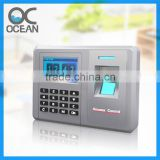2014 New touch screen fingerprint door access control system with free software management