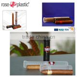 Manufacture round pp cigar tubes plastic for cylinder goods from Germany company