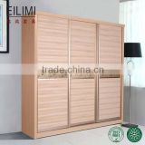 Furniture factory outlet price 3 sliding door wardrobe for bedroom decration